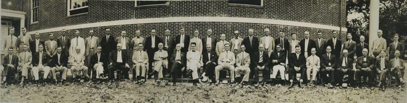 Hapeville Methodist Church Men's Sunday School Class, circa 1935