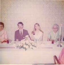 Rehersel Dinner May 1973