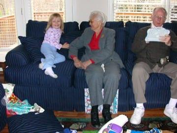 Grandmother Natalie Nolan_Christmas2004